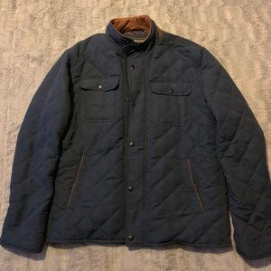 Quilted Men's jacket by Forever 21.